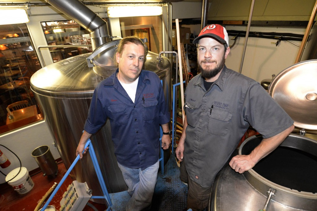 Desert Edge Brewery   Damn good beer